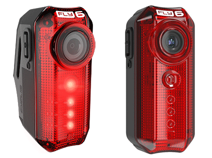 The Fly6 HD Bicycle Rear Camera