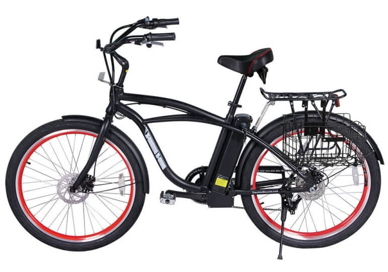X-Treme Newport Electric Beach Cruiser Bicycle