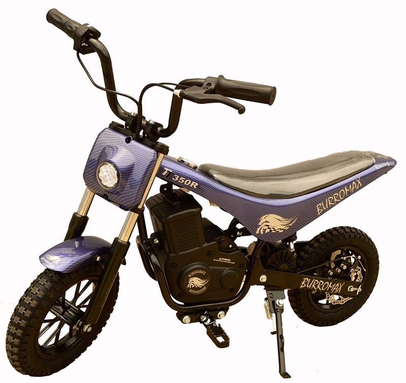 Burromax Blue TT350R Electric Motorcycle Dirt Bike