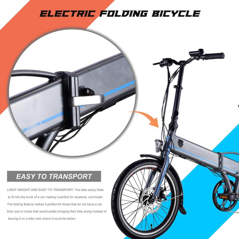 10 Top Rated Cheap Folding Electric Bikes 2019 | We Are The