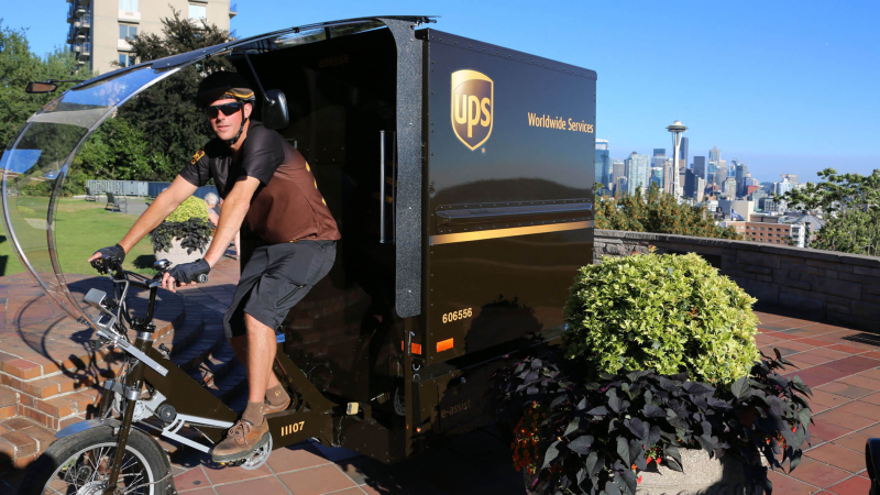 UPS electric bike